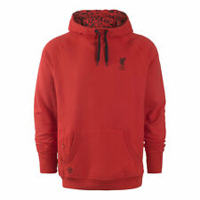 WARRIOR SIZE S M L XL XXL LIVERPOOL LFC MENS HOODY OVERHEAD SWEAT OFFICIAL RED