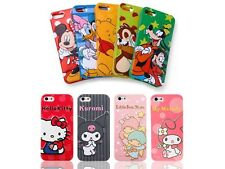 New 3D Lovely Cartoon TPU Soft Case Cover for iPhone 5 5S