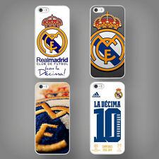 HARD CASE - TPU COVER FITS IPHONE 4 4S 5 5S 5C REAL MADRID + SCREEN PROTECTOR
