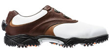 FootJoy Contour BOA Golf Shoes Closeout White/Brown 54111 Mens New