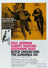 "Poster Film ""Butch Cassidy & The Sundance Kid"" Vintage A1 A2 A3 A4"