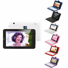 "iRulu 7"" 8GB Dual Core Tablet PC Android 4.2 2G GSM Phone Call WiFi w/ Keyboard"