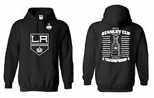 LOS ANGELES KINGS 2014 STANLEY CUP CHAMPIONS Hooded Sweatshirt (Sizes S - 5XL)