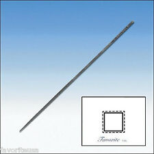 GROBET-VALLORBE SWISS ESCAPEMENT FILE SQUARE -65mm Long-Cuts # 0-2-4-6-8