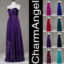 Wholesale Long Prom Dresses Wedding Bridesmaid Dress Party Formal Evening Gowns