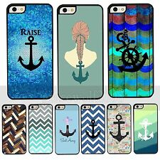 Multicolour Sailor Anchor Protector Case Cover Skin For Apple iPhone4 4S 5 5S 5C
