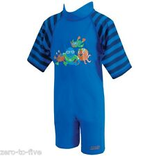 NEW ZOGGS BLUE ULTRA VIOLET SUIT FOR TODDLERS - SUN PROTECTION 2-3 YEAR OLD