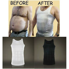Magic Men's Body Shaper For Men Slimming Shirt Tummy Waist Vest