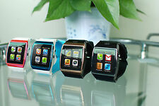 Touch U8 Pro Bluetooth Watch Phone Handsfree Calls For Samsung S5 S4 S3 Note 4 3