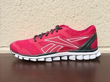 NEW WOMENS REEBOK REAL FLEX SPEED 2.0 SNEAKERS-SHOES-PINK-VARIOUS SIZES