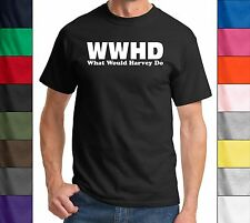 WWHD What Would Harvey Do Funny T Shirt TV Show Lawsuit Lawyer Unisex Tee Shirt