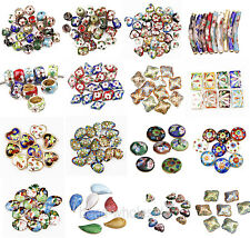 Great Equisite Round/Heart/Teardrop/Rhombus Cloisonne Beads Spacer Hot