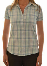 REGATTA COSIMA LADIES CASUAL SHORT SLEEVE CHECK COOL WEAVE SHIRT WS135 C7