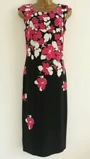 NEW PRECIS @ DEBENHAMS RRP £99.00 6-18 Floral Shift Dress Red Black Pink White