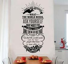 What Makes You Come Alive Removable Vinyl Decal Wall Art Stickers Letters Words