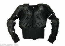 ADULT BODY ARMOUR JACKET MOTOCROSS MX ENDURO CROSS OFF ROAD BLACK PROTECTION