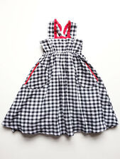 Toddler Girls Check Sundress Ses Petites Mains Size 2T, 3T, 4T $64 NWT