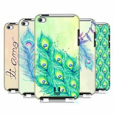 HEAD CASE DESIGNS PEACOCK FEATHERS CASE COVER FOR APPLE iPOD TOUCH 4G 4TH GEN