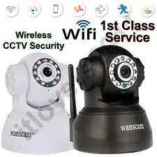 Wanscam Wireless WIFI CCTV Security Internet IP Camera Webcam NightVision2 Audio
