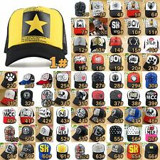 60 Styles Korean Fashion Unisex Women Men Boy Hip-Hop Hat Baseball Cap CF2076#