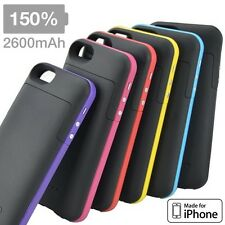 2200mAh External Backup Power Battery Charger Protect Case for Apple iPhone 5 5S