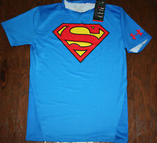 MEN'S ALTER EGO UNDER ARMOUR HEATGEAR *SUPERMAN* COMPRESSION SHIRT-XL