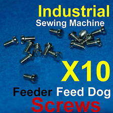 10 Feeder Feed Dog Screws for Industrial Sewing Machines for Brother Singer Juki