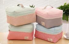 Portable Bra To Receive Cute Clothes Tidy Package Big Capacity Cosmetic Bag