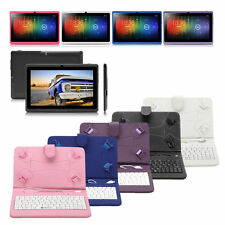 "iRulu 7"" Tablet PC 8GB/16GB Android 4.2 Dual Core&Cam WIFI w/ Gridding Keyboard"