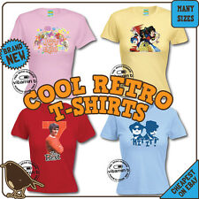 Retro TV and Movie Ladies T-Shirts. Cool Clangers Bagpuss Michael Jackson Elvis