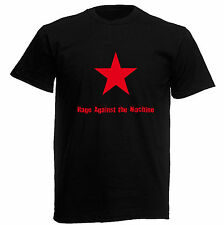 T-SHIRT RAGE AGAINST THE MACHINE - maglietta 100% cotone nero - maglietta A