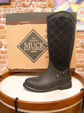 Muck Boot Black Pacy High Equestrian Waterproof Boot New