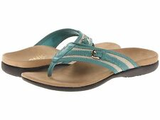 NEW - VIONIC with Orthaheel Technology MARISA Toe Post Sandal - Mint