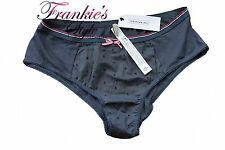 Ladies Girls Cotton INTIMISSIMI  Panty Knickers Underwear Navy Medium Waist 32cm