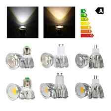 Ultra Bright 6W 9W MR16 GU10 E27 Dimmable LED COB Spot Down Light Lamp Bulb