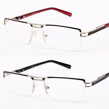 Mens Quality Reading Glasses Semi Rimless Metal +1.0+1.25+1.75+2.0+2.7525735 R43