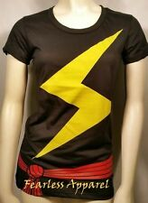 I AM MS. MARVEL CAROL DANVERS SUPER HERO COMICS JUNIORS JRS COSTUME T SHIRT S-XL