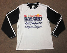 NEW TROY LEE DESIGNS TLD SUPER RETRO RED BULL DITD MX JERSEY WHT/ BLK ALL SIZES