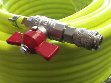 Water Fed Pole Hose Asemblies & Rectus 21 Fitted,Hi Vis 8mm Bore Microbore Pipe