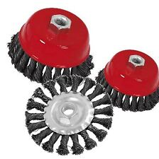 WIRE CUPS AND WIRE WHEELS - Discounted with multiple buy