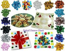 Spectrum System 96 Fusible Glass Pebbles SET/25  Choice of Colors