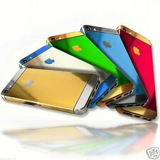 For Apple Phone 4 4S 5 5S Gold Silver Edition Full Body Wrap Decal Sticker Cover