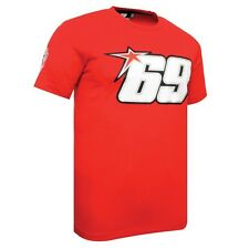 Official Nicky Hayden 69 T-shirt Red New
