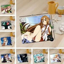 """Sword Art Online Anime Gaming Mouse Pad 9.8"""" x 11.8"""""""