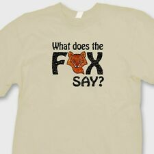 What Does The Fox Say? T-shirt Funny Norwegian Dance You Tube Long Sleeve Tee