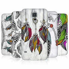 HEAD CASE TRIBAL FEATHERS REPLACEMENT BATTERY BACK COVER FOR SAMSUNG GALAXY S5