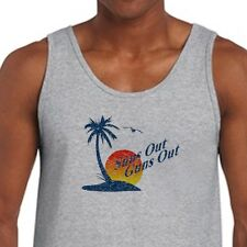 SUNS OUT GUNS OUT Funny Beach T-shirt Crossfit Muscle Training Men's Tank Top