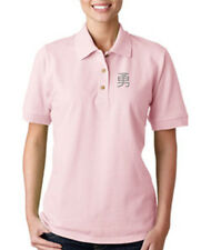 JAPANESE COURAGE Embroidery Embroidered Lady Woman Polo Shirt