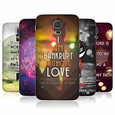 HEAD CASE CHRISTIAN TYPOGRAPHY SERIES 1 BATTERY BACK COVER FOR SAMSUNG GALAXY S5