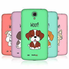 HEAD CASE HAPPY PUPPIES BATTERY BACK COVER FOR SAMSUNG GALAXY MEGA 6.3 I9205